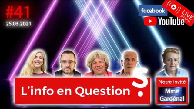 IFQ41 - Émission du 25 mars 2021 avec la docteure Martine Gardenal
